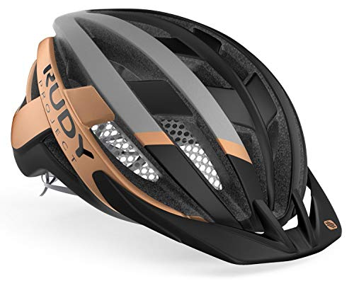 Rudy Project Venger MTB Helm Black/Bronze Matte Kopfumfang M | 55-59cm 2021 Fahrradhelm