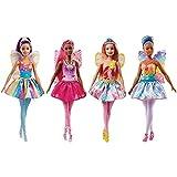 Barbie–Poupée Fée 30cm, Multicolore (fjc84)