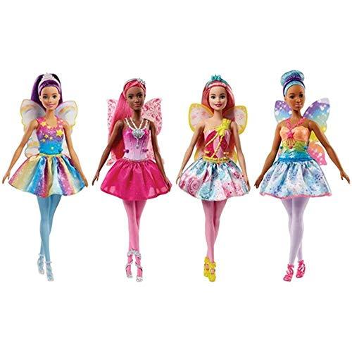 Barbie Barbie-FJC84 Muñeca Hada 30 cm, Multicolor (FJC84)