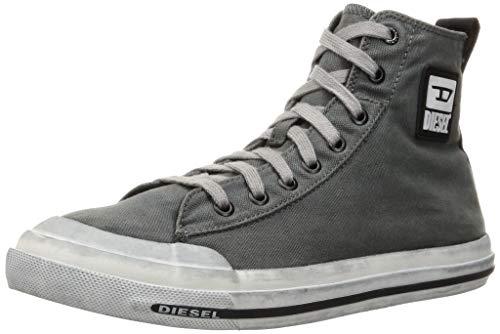 DIESEL Zapatillas para hombre S-Astico Mid Cut Y02370PS732 gris primavera verano 2021 Size: 43 EU