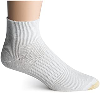 Gold Toe Men's MAX CST Support Quarter Athletic Sock