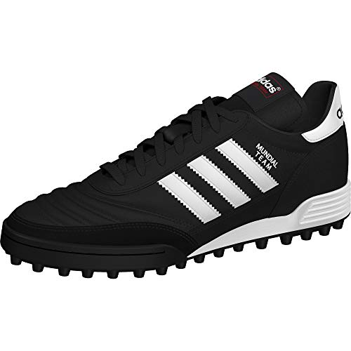 adidas Performance Men's MUNDIAL TEAM Athletic Shoe, black/white/red, 9.5 M US