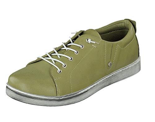 Andrea Conti Damen Schuhe Halbschuhe Sneaker 0347891262 Kiwi (Numeric_38)