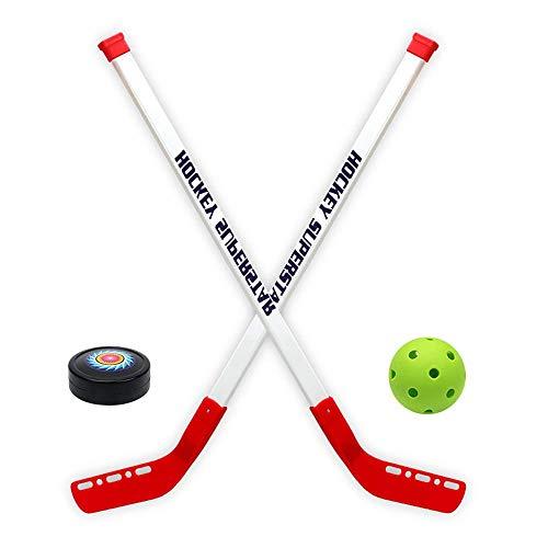 sowofa Juego de Juguetes de Hockey sobre Hielo Juego de Hockey sobre césped para niños Deportes para Padres e Hijos Kindergarten Ayuda Deportiva