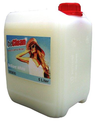 Flüssigwaschmittel Brilliant white 5 l Kanister für weiße Gardinen Trikots Dessous