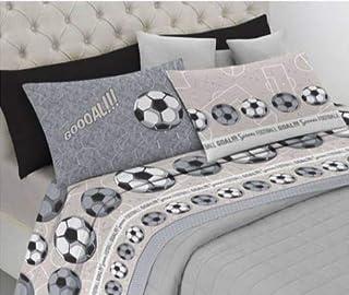 Lenzuola Matrimoniali Juventus.Amazon It Juventus Lenzuola E Federe Biancheria Da Letto