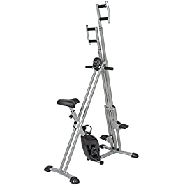 Best Choice Products 2-in-1 Total Body Vertical Climber Magn...