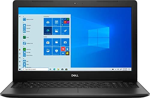 "2021 Dell Inspiron 15 15.6"" Touchscreen Laptop Computer, Intel Quad-Core i7 1065G7 up to 3.9GHz, 12GB DDR4 RAM, 512GB PCIe SSD, AC WiFi, HDMI, Remote Work, Black, Windows 10"