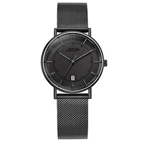 JEDIR Orologi Donna ultra sottile classico orologio da polso al quarzo...