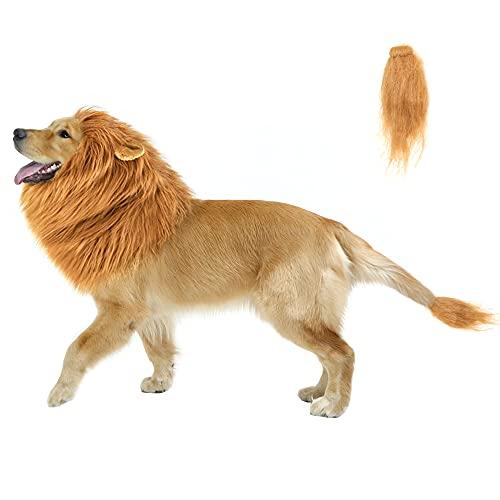 CPPSLEE Lion Mane for Dog Costumes, Dog Lion Mane,...