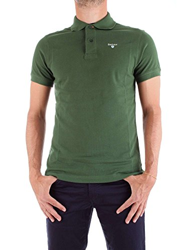 Barbour Poloshirt kurzärmlig grün Herren - BAPOLO119, Grün Small