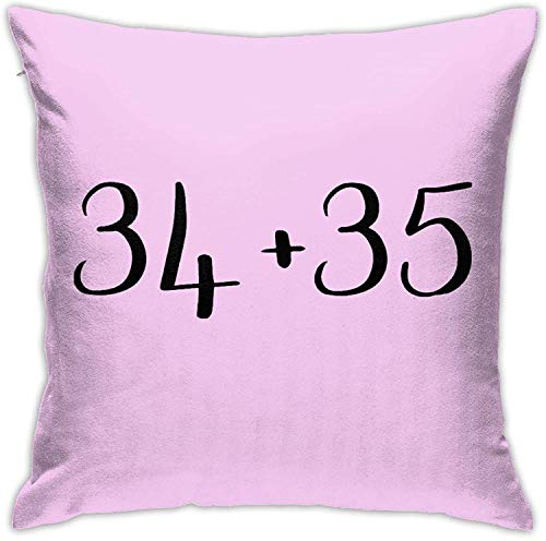 A-ri-Ana Gr-Ande - Funda de almohada de doble cara (34+35), color blanco