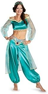 Disney Women's Disguise Aladdin Jasmine Sassy Prestige Costume
