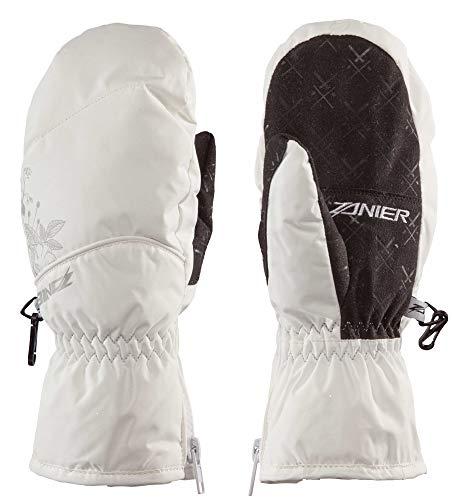 Zanier Mils.ZX Weiß, Damen Primaloft Fausthandschuh, Größe - Farbe Weiß