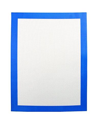 Heisenberg Matte Antihaft Silikonmatte blau zum Verarbeiten von Wachs und Konzentraten 30cmx40cm