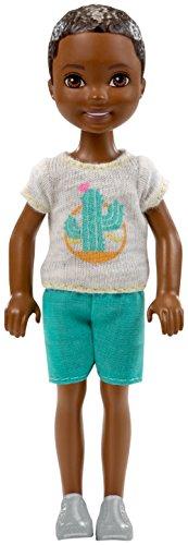 Barbie Chelsea Muñeco moreno con camiseta de cactus (Mattel