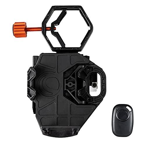 Celestron - NexGo DX Kit - Universal Smartphone Adapter - Digiscoping Smartphone Adapter - Bonus Bluetooth Shutter Release Remote
