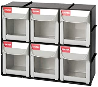 Shuter 1010018 Bins Flip Outs 6 Compartment