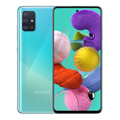 Samsung SM-A515FZBFATS A51 Smartphone, Blue