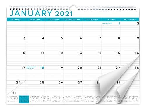 Sweetzer & Orange 2021 Calendar. 18 Month Office Wall Calendar Jul 2020-Dec 2021 - Blue Business Design Monthly Planner, Daily Wall Calendars for Office Organization. 11.5 x 15 Inch Hanging Wall Calendar