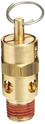 "Control Devices ST Series Brass ASME Safety Valve, 60 psi Set Pressure, 1/4"" Male NPT from Control Devices"