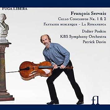 Servais: Cello Concerto Nos. 1 & 2, Fantaisie burlesque & La Romanesca