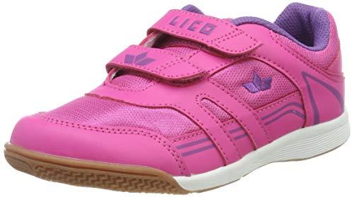 Lico Active Indoor Boy V Multisport Indoor Schuhe Jungen, Pink/ Lila, 34 EU