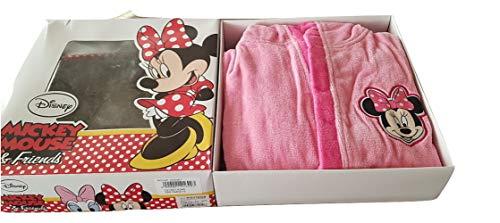 sfiziosa Dulce Albornoz niña Mickey Minnie Color Caramelo Esponja algodón