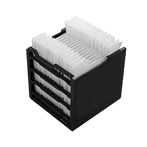 Filtro de repuesto para ventilador de aire acondicionado a través de 3 elementos de filtro, 30 piezas de papel filtrante