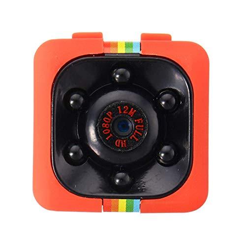 ROGF Dash Cam1080P Coche Cámaras Ocultas DVR DV Video Recorder VideocámaraCámara De Coche (Size:Middle; Color:Red)