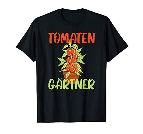 Tomaten Gärtner Tomatengärtner Gemüsebeet T-Shirt