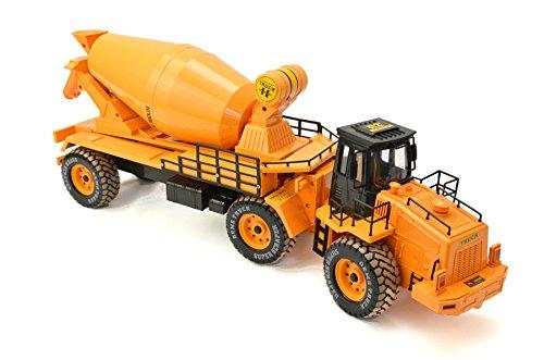 RC Auto kaufen Baufahrzeug Bild: RC Truck 4 Kanal LKW Betonmischer