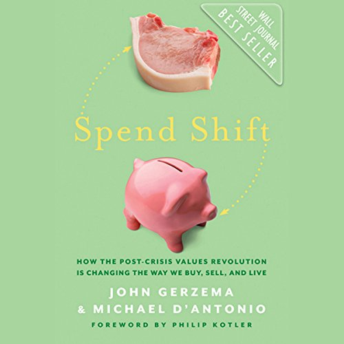 Spend Shift audiobook cover art