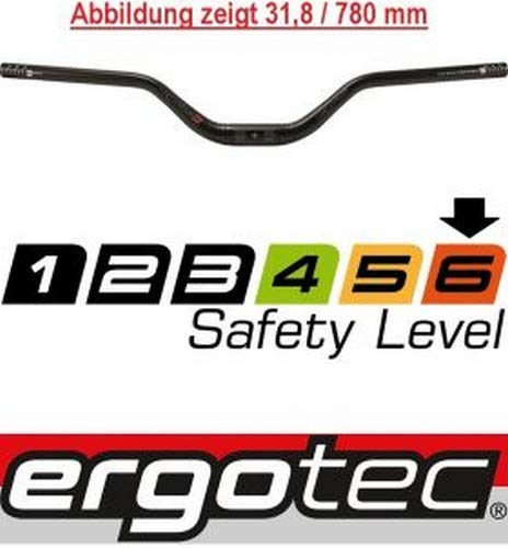 Ergotec Manillar Riser ALU 700mm 25.4 ALT.70mm 12º