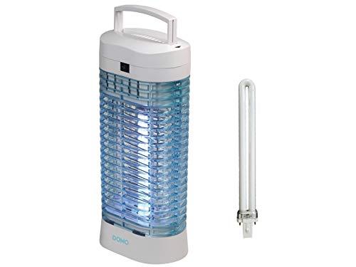 Destructeur d'insectes avec lampe UV 11 W + ampoule de rechange haute tension 1500 V avec suspension