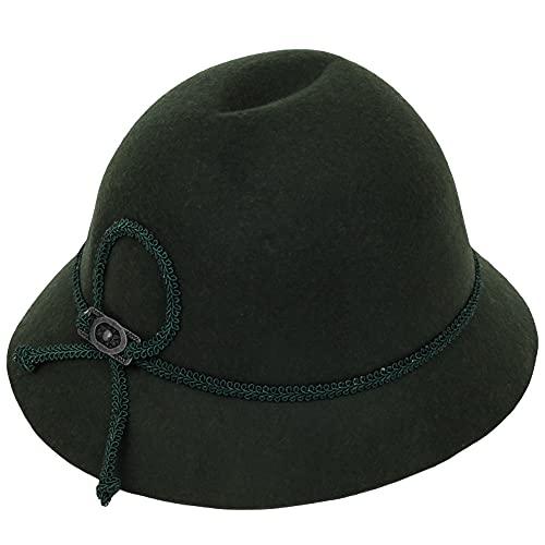 Isar-Trachten Hut für Kinder - Grün Gr. 51