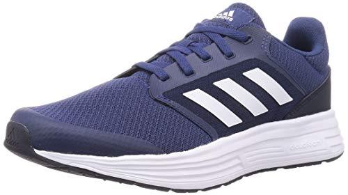 adidas Galaxy 5, Running Shoe Hombre, Tecind Ftwwht Legink, 42 2/3 EU