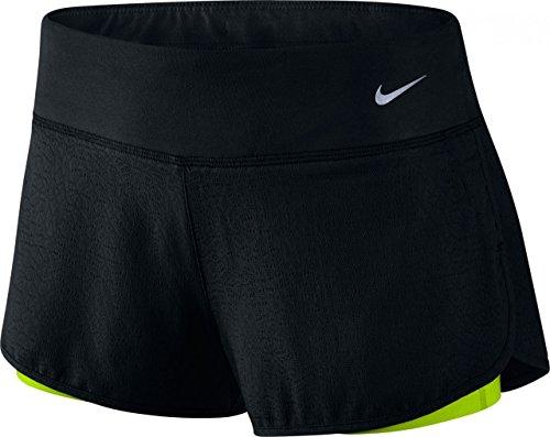 Nike Wom 3 Rival Jacquard 2in1 Short XS Black
