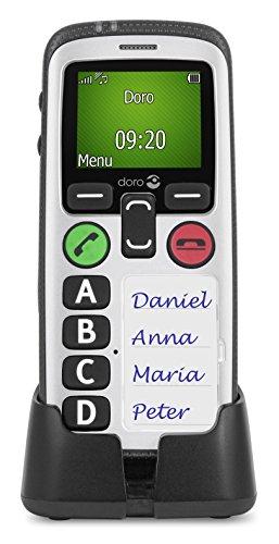 Doro Secure 580 1.8  100g Bianco Telefono per anziani