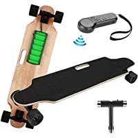 elifine Youth Electric Skateboard with Wireless Remote Control