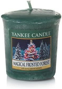 Yankee Candle Magical Frosted Forest Samplers Popular brand in the world 18 Votive - Elegant