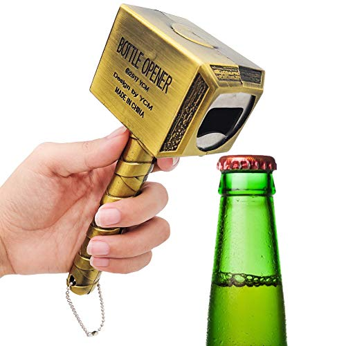 JJYHEHOT Abrebotellas Martillo ,Abra Las Tapas De Botellas para Cerveza Y Vino De Una Manera Más Creativa