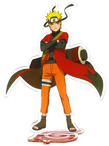CoolChange Muñeco con Soporte de plástico de Naruto, Figura: Naruto Uzumaki 1