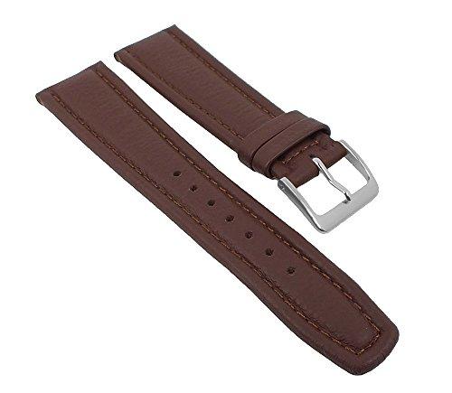 Graf Manufaktur Montana Uhrenarmband Walknappa Band XL Länge Braun 26344S, Stegbreite:22mm
