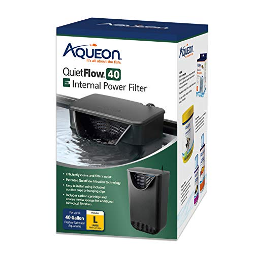 Aqueon QuietFlow E Internal Power Filter Large - 40 Gallon