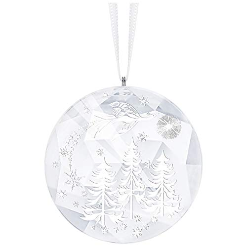 Swarovski Winter Night Ornament White One Size