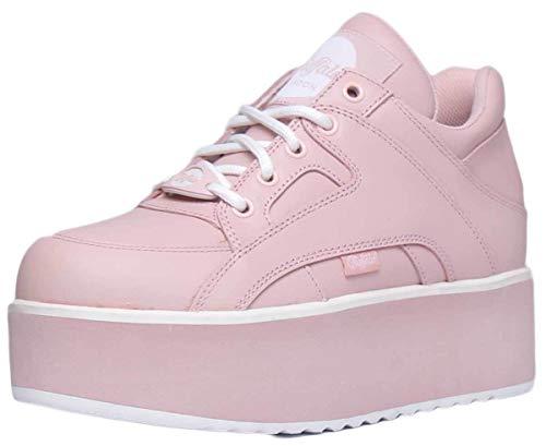 Buffalo Damen 1330-6 Leder Baby Pink Trainer 40 EU