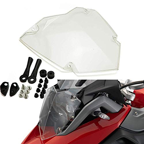 JIEWEI Premium Quality Todo Nuevo para B.M.W R1250GS / ADV LC 2019 R1250 GS Exclusivo HP Transparent Motorcycle Footlight Protector Protección Protección para estrenar