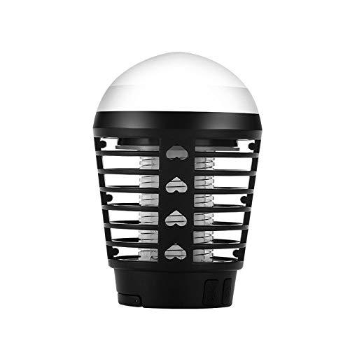 KFRSQ lamp tegen muggen, Fly Killer Bug Zapper, intelligent station, elektrische schok, fotokatalysator niet radiatief, oplaadbaar, waterdicht, camping thuis