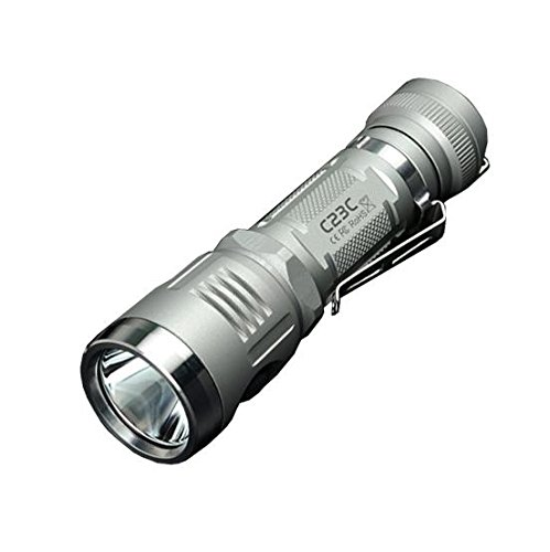 Sunwayman C23C 1000Lm Rechargeable Flashlight XM-L2 U3 LED -Available in Natural or Black